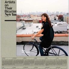 artists on their bicycles