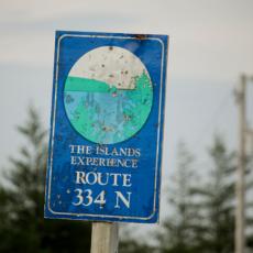 Joe Batt's Arm Road, Fogo Island, Newfoundland, summer 2013. Photo: Steffen Jagenburg.