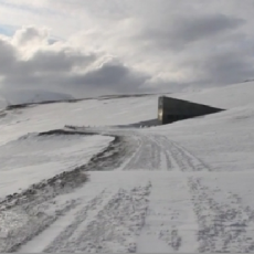 Svalbard Global Seed Vault, Longyearbyen, Svalbard. © Daniaux-Pigot