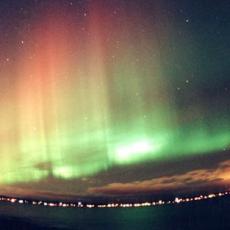 Aurores boréales Pôle Nord