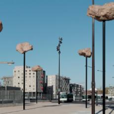 Les Rochers dans le ciel, de Didier Marcel. Photo Aurélien Mole
