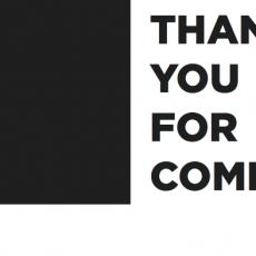 thankyouforcoming
