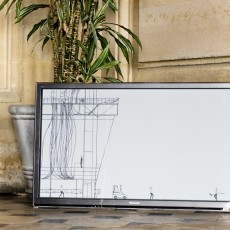 Vincent Broquaire, installation Micro-Mondes