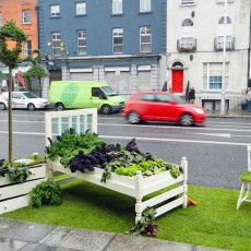 """Lazy Salad Bed"" de Barry Murphy, Dublin (www.inhabitat.com)"